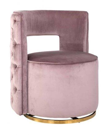 RI S4498 forgó fotel (pink) Home Concept Lakberendezési