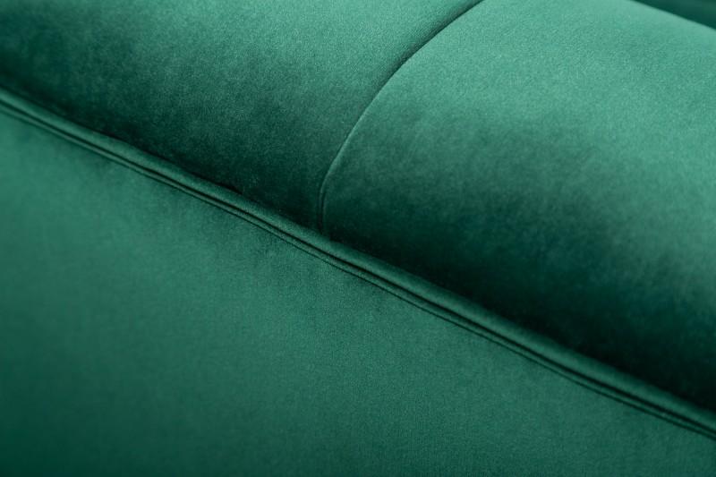 MORYAS bársonyszövetes kanapé smaradzöld smaragd green velvet 225cm 40404_4