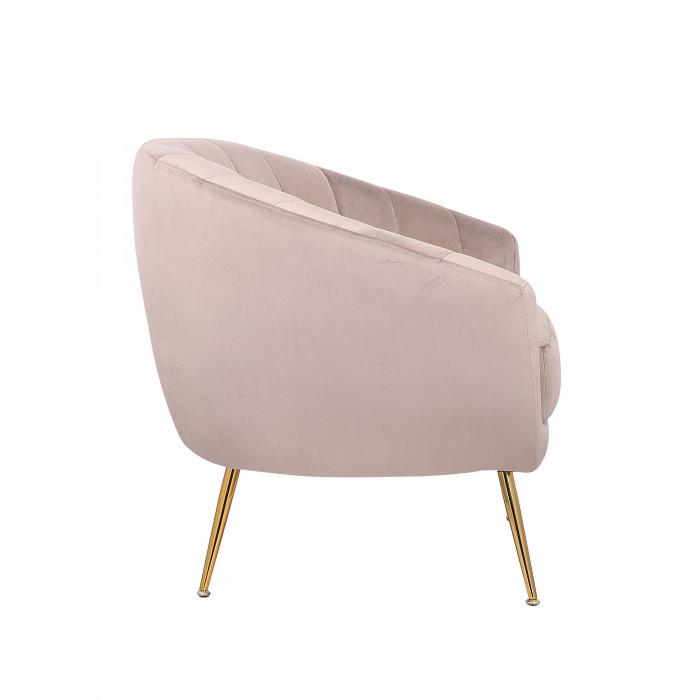 MOB – 1040 Rinida fotel – taupe velvet (1)