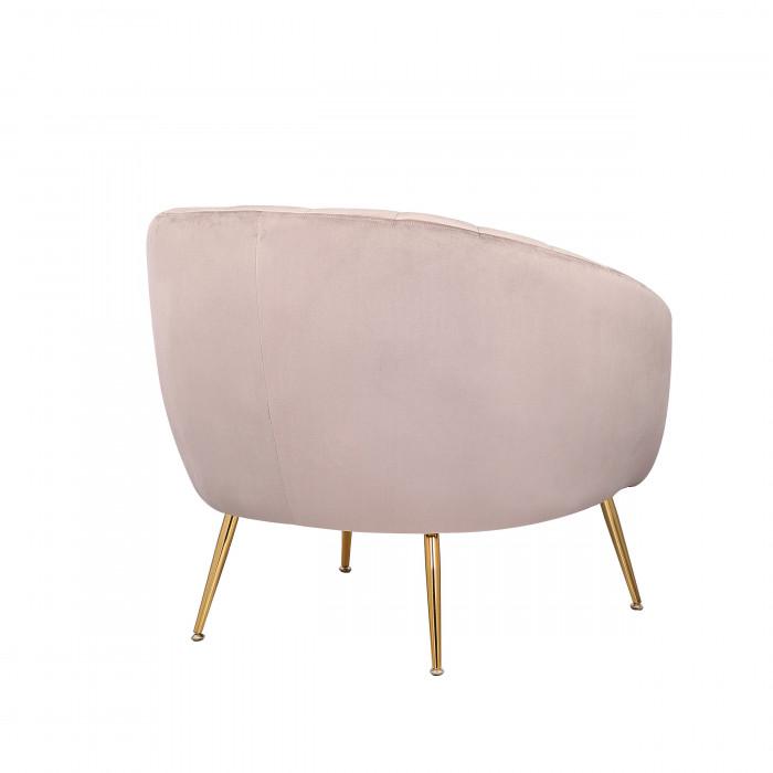 MOB – 1040 Rinida fotel – taupe velvet (2)