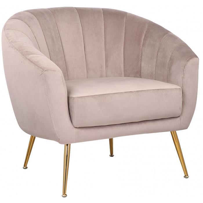 MOB – 1040 Rinida fotel – taupe velvet (7)