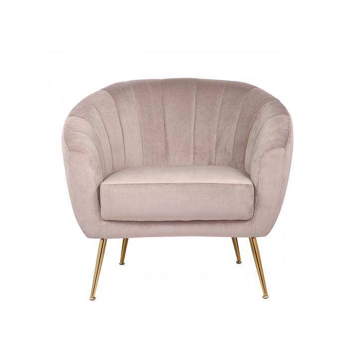 MOB – 1040 Rinida fotel – taupe velvet (8)