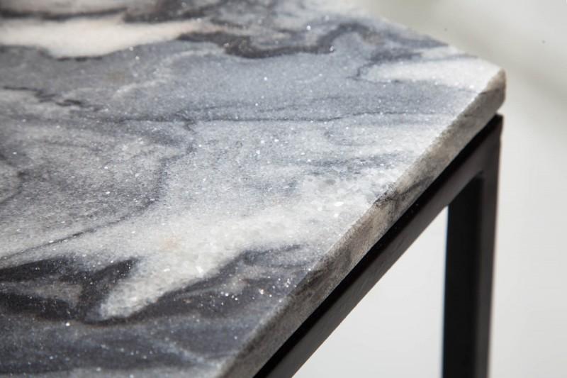 NVI – 40113 Elements Marble dohányzóasztal 50 – grey (9)