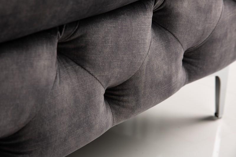 NVI – 41135 Modern Barock puff – darkgrey velvet (14)