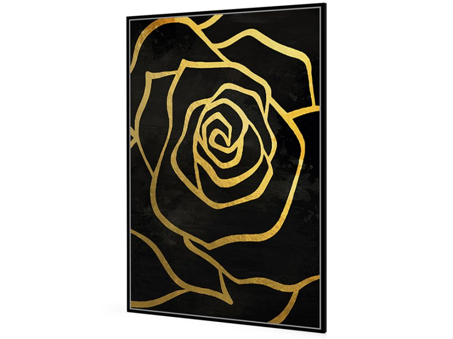 pol_pl_Czarny-obraz-zlote-kwiaty-82-6×122-6-cm-L0259-1667_1