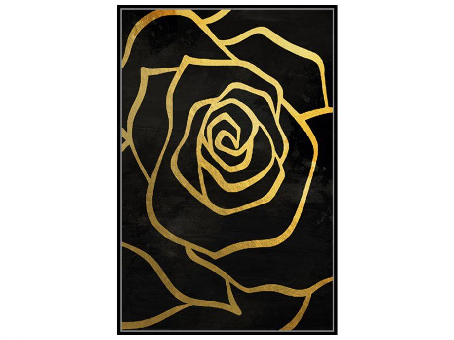 pol_pl_Czarny-obraz-zlote-kwiaty-82-6×122-6-cm-L0259-1667_2